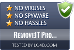 RemoveIT Pro Enterprise is free of viruses and malware.
