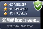 SBMAV Disk Cleaner Lite is free of viruses and malware.