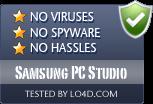 Samsung PC Studio is free of viruses and malware.
