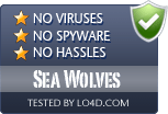 Sea Wolves is free of viruses and malware.