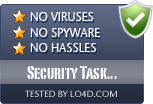 Security Task Manager is free of viruses and malware.