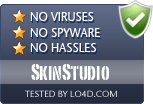 SkinStudio is free of viruses and malware.