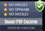Smart PDF Creator is free of viruses and malware.