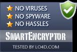 SmartEncryptor is free of viruses and malware.