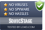 SonicStage is free of viruses and malware.