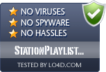 StationPlaylist Studio is free of viruses and malware.