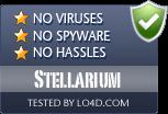 Stellarium is free of viruses and malware.