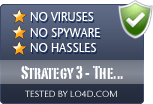 Strategy 3 - The Dark Legions is free of viruses and malware.