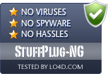 StuffPlug-NG is free of viruses and malware.
