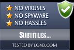 Subtitles Translator is free of viruses and malware.