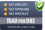 TOAD for DB2 is free of viruses and malware.