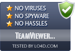 TeamViewer QuickSupport is free of viruses and malware.