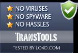 TransTools is free of viruses and malware.