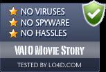 VAIO Movie Story is free of viruses and malware.