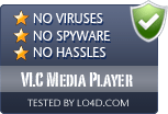 VLC Media Player is free of viruses and malware.