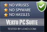 Vertu PC Suite is free of viruses and malware.
