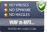 WAV to MP3 Converter is free of viruses and malware.