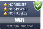 WeFi is free of viruses and malware.
