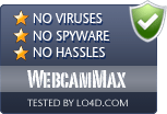 WebcamMax is free of viruses and malware.
