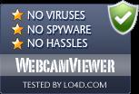WebcamViewer is free of viruses and malware.