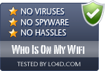 Who Is On My Wifi is free of viruses and malware.