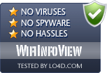WifiInfoView is free of viruses and malware.