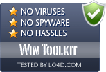 Win Toolkit is free of viruses and malware.