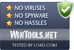 WinTools.net is free of viruses and malware.