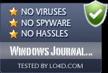 Windows Journal Viewer is free of viruses and malware.
