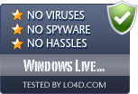 Windows Live Updater is free of viruses and malware.