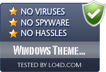 Windows Theme Installer is free of viruses and malware.