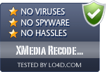 XMedia Recode Portable is free of viruses and malware.