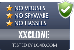 XXCLONE is free of viruses and malware.