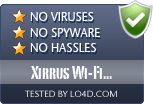 Xirrus Wi-Fi Inspector is free of viruses and malware.
