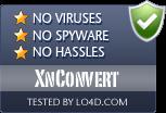 XnConvert is free of viruses and malware.