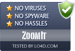 ZoomIt is free of viruses and malware.