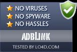 adbLink is free of viruses and malware.