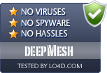 deepMesh is free of viruses and malware.