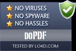 doPDF is free of viruses and malware.