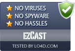 ezCast is free of viruses and malware.