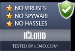 iCloud is free of viruses and malware.