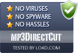 mp3DirectCut is free of viruses and malware.